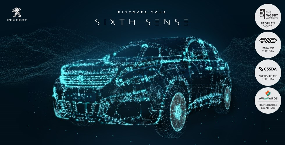 Peugeot Discover your Sixth Sense